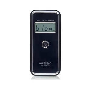 AlcoMate Accucell AL9000 - Professional Alcohol Breathalyzer