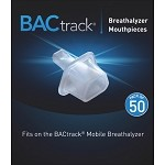 BacTrack Mobile Breathalyzer Mouthpieces - 50 Pack