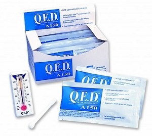 QED A150 Oral Fluid / Saliva BAC Alcohol Test - Case (10 pcs.)